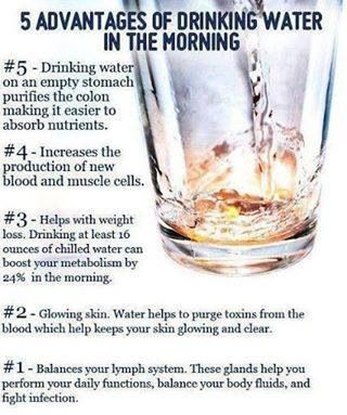 I wonder if hot water in the morning is as good for you? Feels more like a cup of tea then?