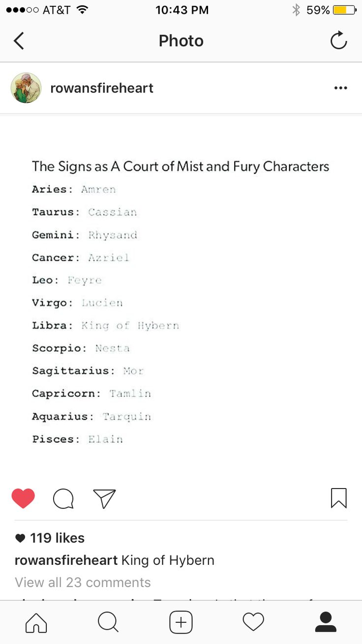 I love this but feyre should be Sagittarius