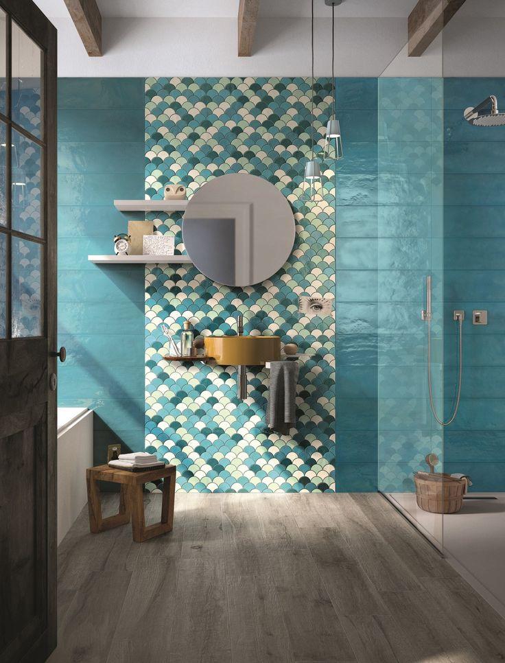 Revêtement mural en céramique bicuisson SHADES by Cooperativa Ceramica d'Imola