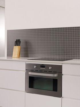 Väggpanel Alloc Kitchen Wall Skiffer Grå SF, 3 x 3