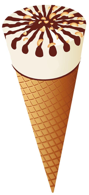 Transparent Ice Cream Cone PNG Clipart