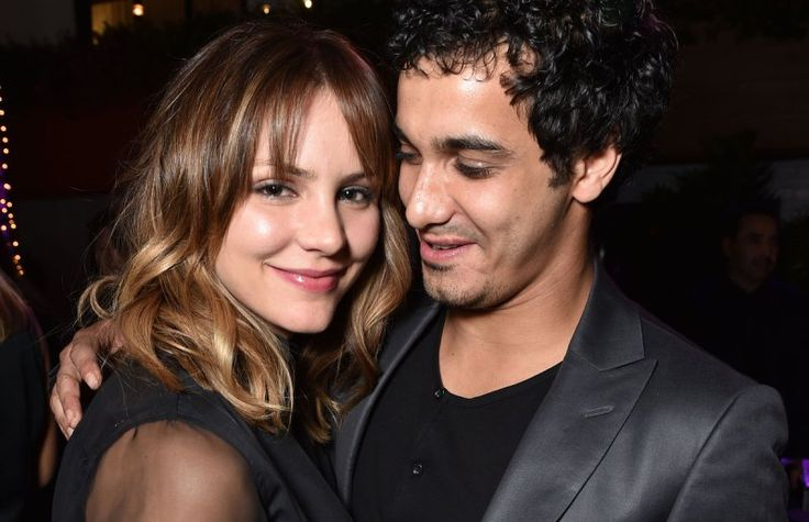 Real life couple from Scorpion - Katharine McPhee & Elyes Gabel attend 'A Most Violent Night' premiere 3-2015