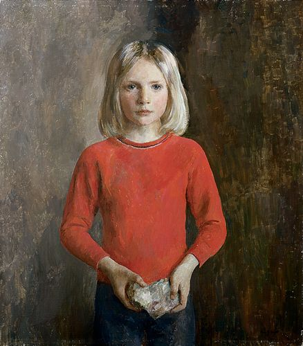 Henriette Wyeth, 1907 - 1997Portrait of David, 1978 oil on canvas 34 in. x 29.75 inches