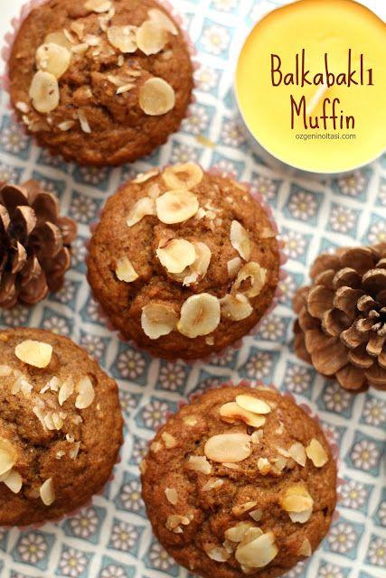 Balkabaklı Muffin (10 Dakikada Fırında) - Özge'nin Oltası