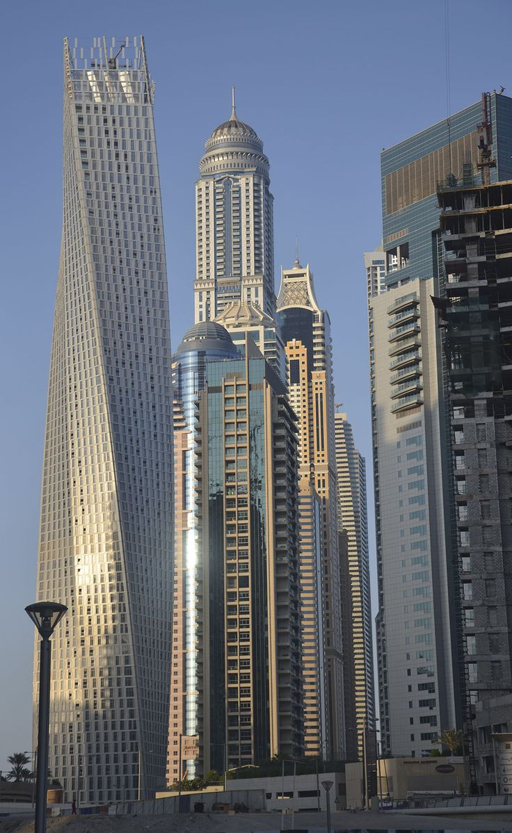 Dubai. Skycrapers: Where There Are Non, They're Being Built