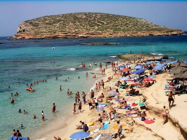 Beach! beach! beach!  Ibiza Stones