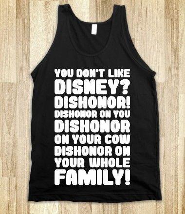 You Don't Like Disney?