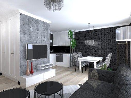 Ano Studio - Architekt Wnętrz - Projektant wnętrz - projekty mieszkań, domów, przestrzeni użyteczności publicznej. Mińsk Mazowiecki , Warszawa i okolice.