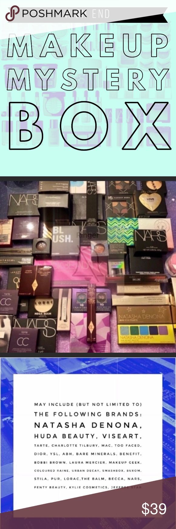 HIGH END MAKEUP MYSTERY BOX ** AVAILABLE AT THIS PRICE