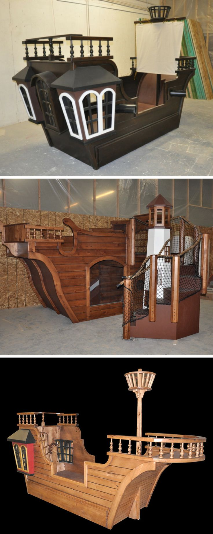 Best 25 Pirate Ship Bed Ideas On Pinterest Childrens