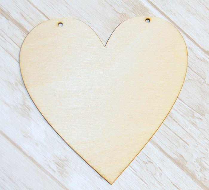 Serce 12 cm tabliczka TBL10 heart