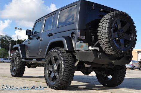 matte black jeep wrangler - Google Search