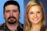 James DiMaggio's sister: 'Where's the proof' my brother killed Hannah Anderson's family? ** FILE ** James Lee DiMaggio (left), 40, and Hannah Anderson, 16, are pictured in a combination of undated file photos provided by the San Diego Sheriff's Department. (AP Photo/San Diego Sheriff's Department)