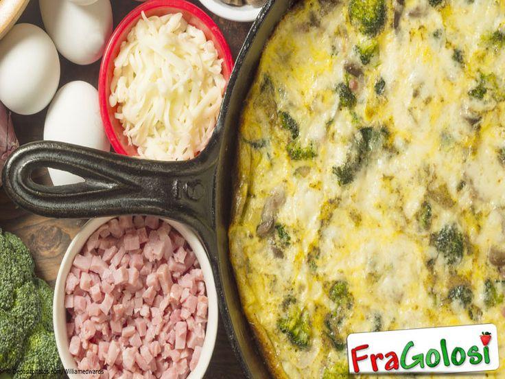 Frittata con i Broccoli - Scopri la Ricetta - Ingredienti, Preparazione passo passo e Consigli Utili per ottenere la Frittata di broccoli.