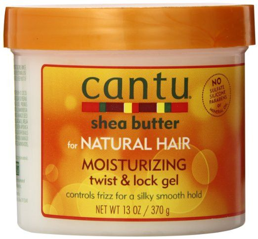 Cantu for Natural Hair Moisturizing Twist and Lock Gel will moisturize, de-frizz and add manageability to your twist and locks, leaving them soft and shiny. Made with 100 percent Pure Shea Butter and