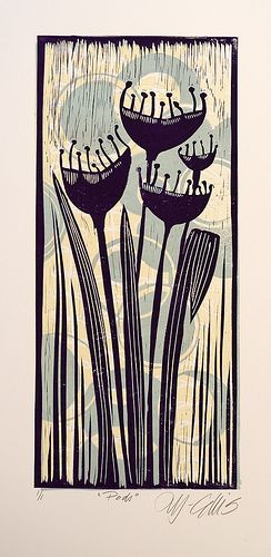 Lino Mix and Match - Purple Pods