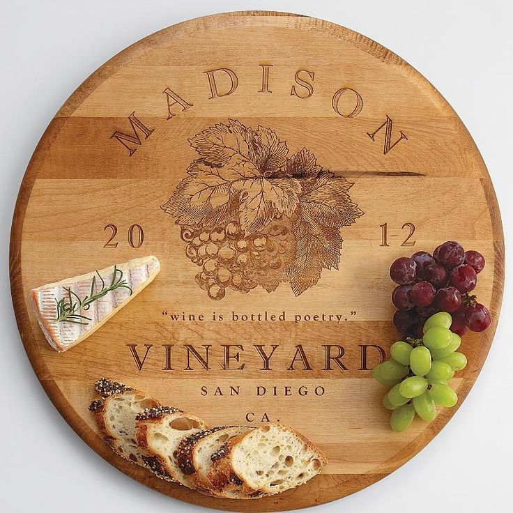 Personalized Lazy Susan From Redenvelope Great Gift