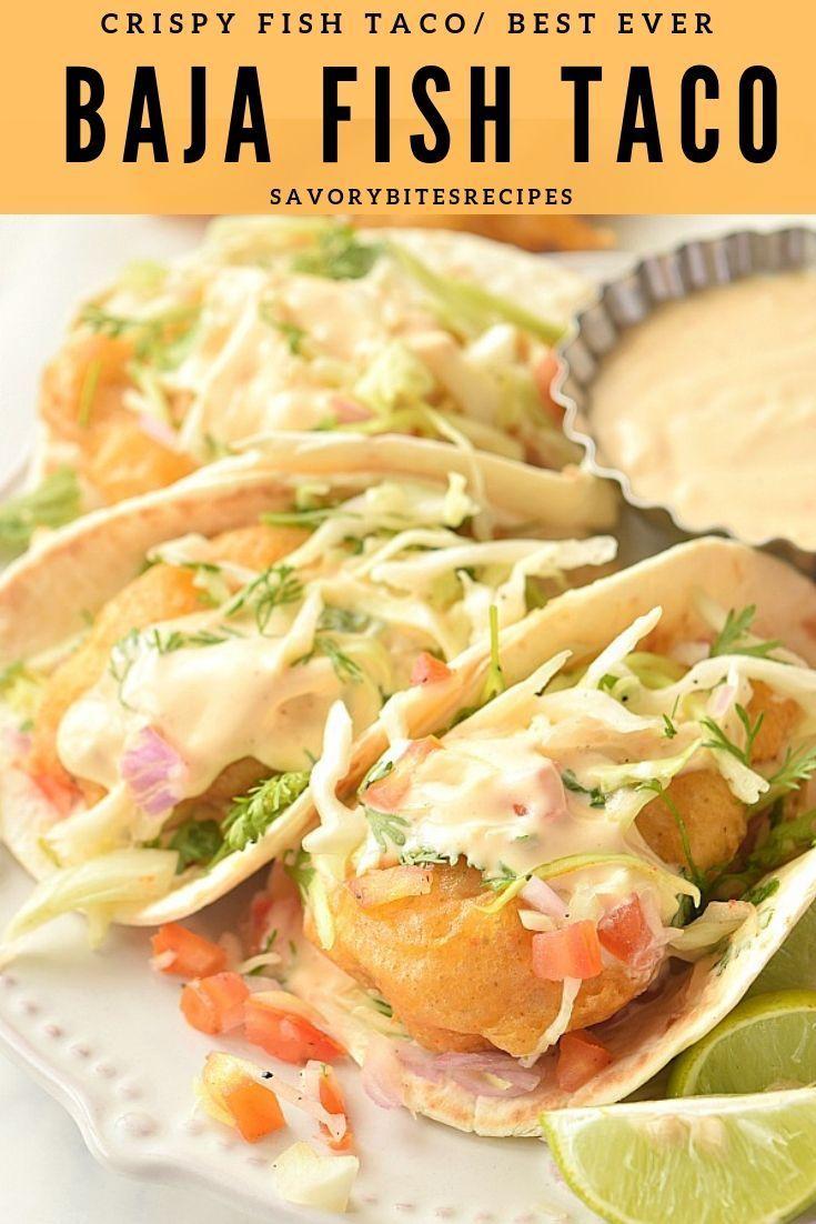 The Ultimate Crispy Baja Fish Taco Recipe