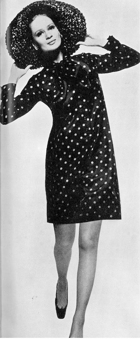 Polka dot fashion history 67
