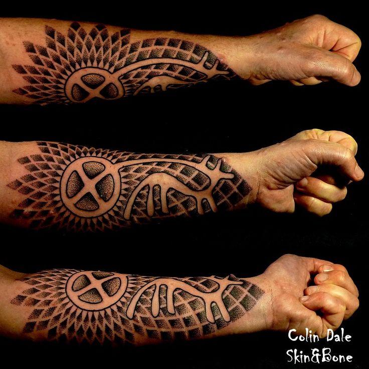 Solvognen som tatovering.