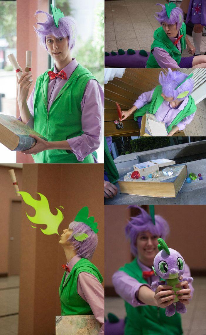 MLP FiM - Spike the Dragon Costume by Kairillia on DeviantArt  sc 1 st  Pinterest & 101 best my little pony cosplay ideas images on Pinterest | Costumes ...