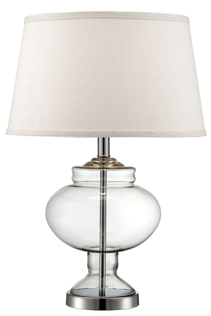 Apothecary Urn 24 High Clear Glass Table Lamp