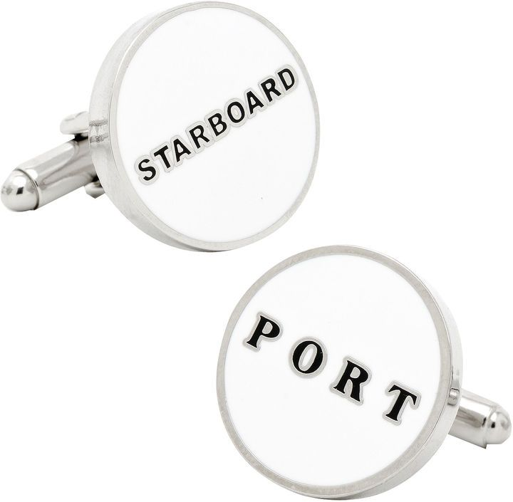 Accessories Port & Starboard Cuff Links
