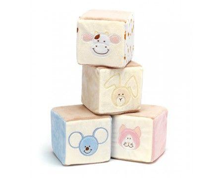Teddykompaniet Diinglisar Soft Rattle Letter Cubes (Kuber)