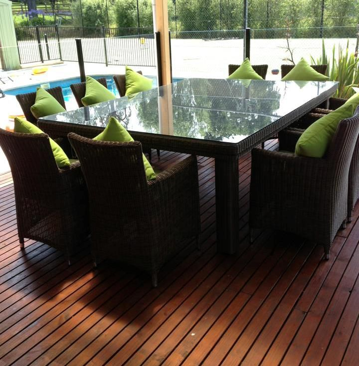 10 Seater Luxury Dining Table By Ansan Outdoor Furniture