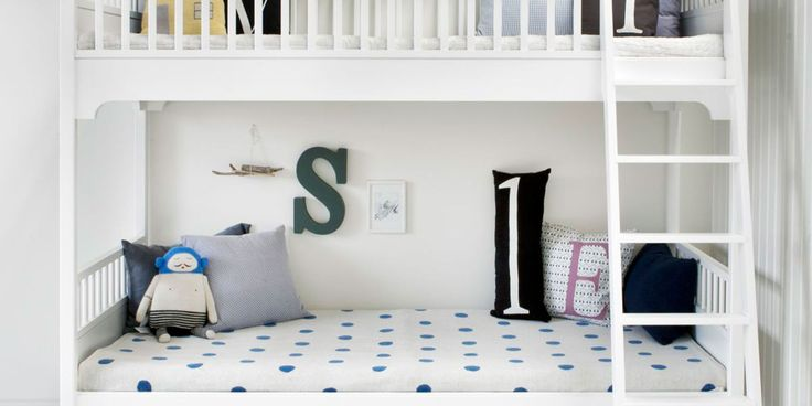 Many studies show that siblings benefit from sharing a bedroom. It helps them to bond and learn to cooperate with each other, just follow these ground rules to keep squabbles to a minimum. Here's how to create a children's bedroom they'll all want share!