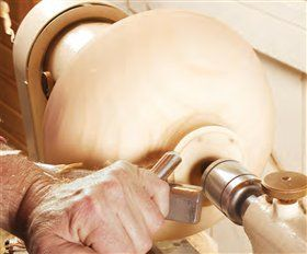Wood turning, American woodworker