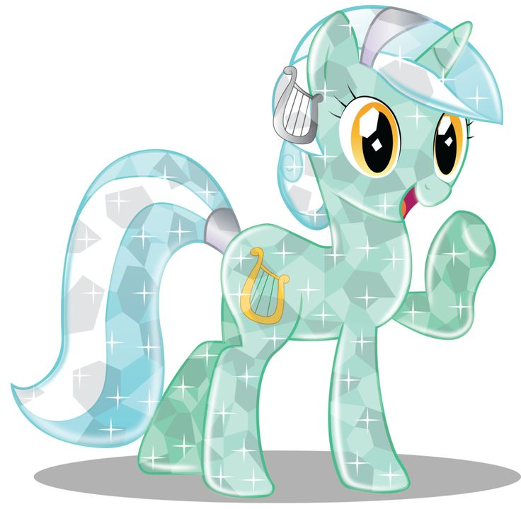 Lyra Heartstrings Crystal by InfiniteWarlock.deviantart.com on @DeviantArt