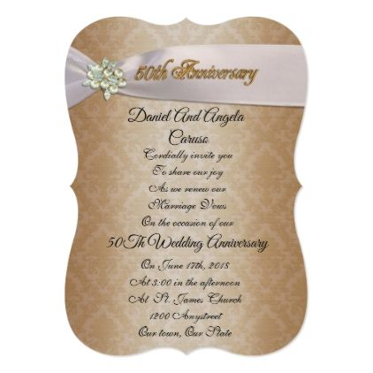 The 25 best wedding anniversary invitations ideas on pinterest 50th wedding anniversary invitation solutioingenieria Gallery