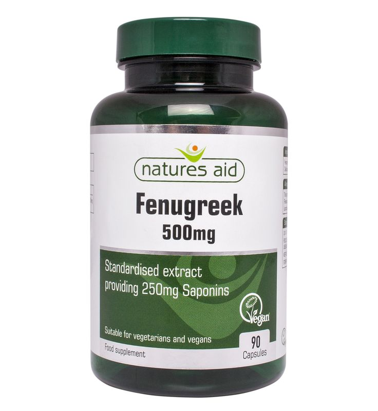 Fenugreek 500mg 90's - 137630