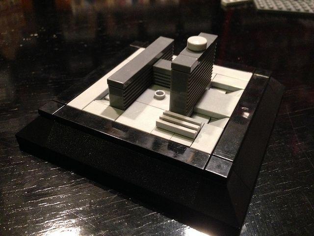 Riget - Micro LEGO -