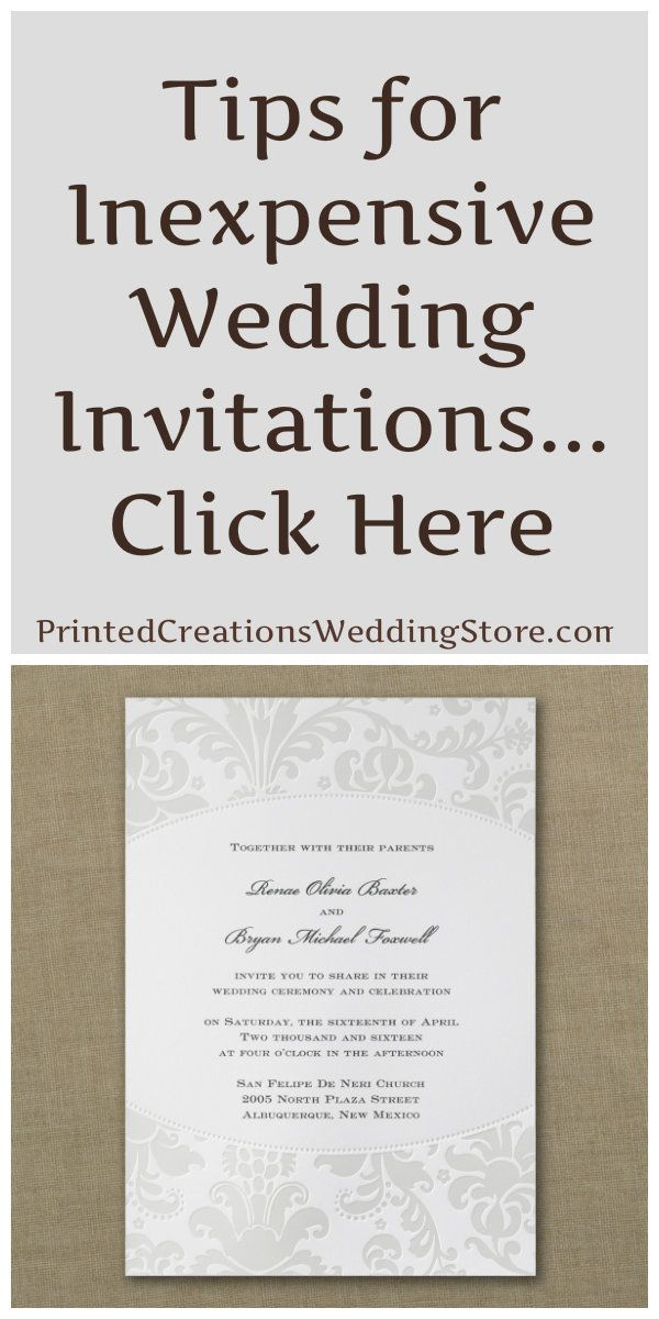 best ideas about inexpensive wedding invitations on pinterest cheap