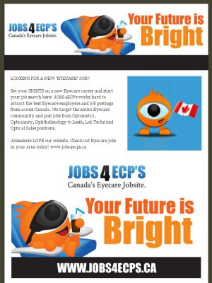Wonderful Set Your SIGHTS On A New EYECARE Career!