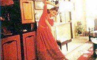 A young Aishwarya Rai practices dance