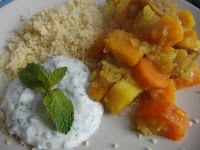 de Smaak van Dille: Vegetarische tajine met muntyoghurt
