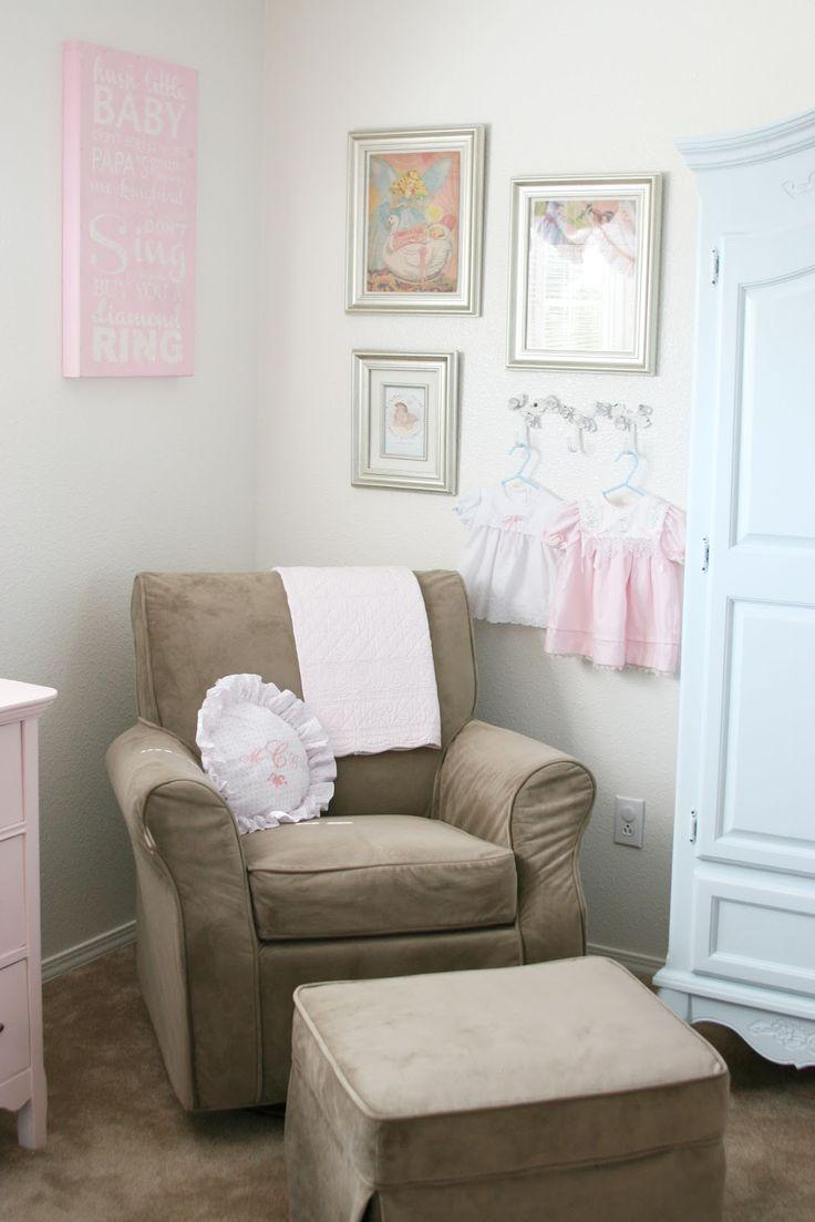 shabby chic nursery ideas baby stuff pinterest. Black Bedroom Furniture Sets. Home Design Ideas
