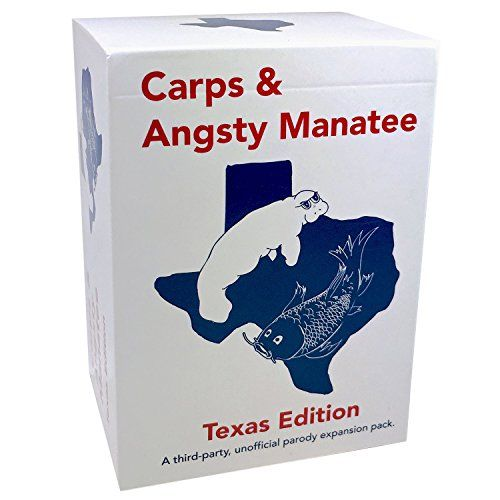 Carps & Angsty Manatee: Texas Edition - A 150-Card Expansion for Depraved Texans