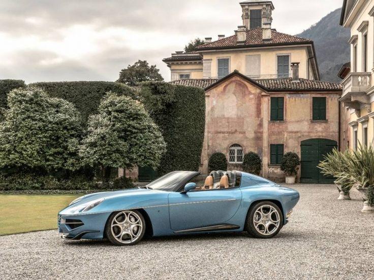 Alfa Romeo Disco Volante Spyder: létající talíř sundal klobouk, 6 let po smrti dárce - 5 -