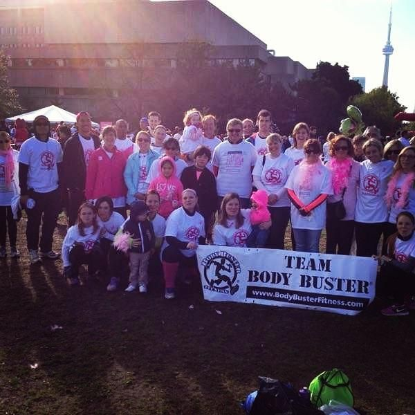 Team Body Buster - CIBC Run For The Cure