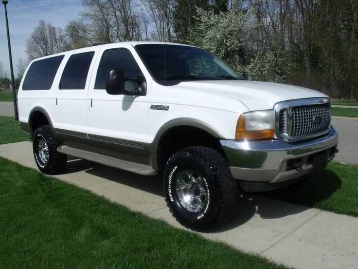Ford Excursion baseline : big ford car - markmcfarlin.com