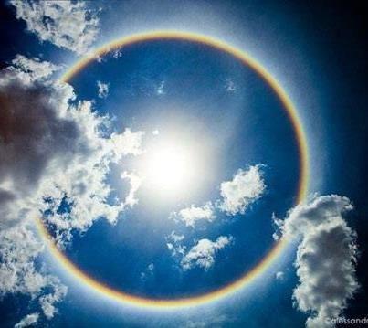 自然現象 : まんまるの虹