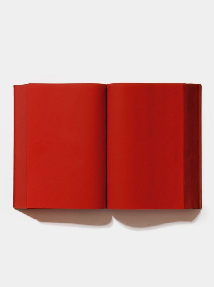 ETTORE SPALLETTI, Red Book, 1998.