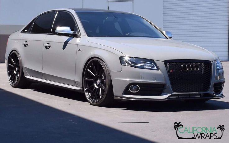 Mean Looking Audi S4 Wrapped In Avery Dennison Sw900 Gloss