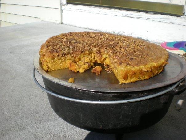 CHUCK WAGON RECIPES: Pumpkin Custard Cake | Food & Recipies ...