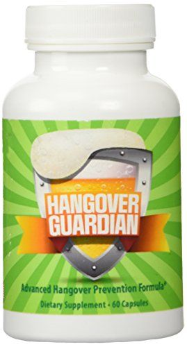 Hangover Guardian: Advanced Hangover Pills w/Activated Ch...