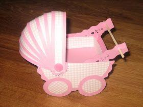 Marit`s lille scrapping verden...: Min egen barnevognkort turorial!